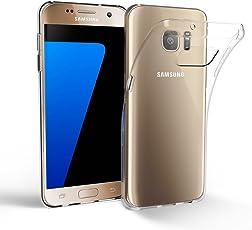 EasyAcc Samsung Galaxy S7 Hülle Case, Dünn Crystal Clear Transparent Handyhülle Cover Soft Premium-TPU Durchsichtige Schutzhülle Backcover Slimcase für Samsung Galaxy S7