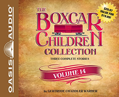 The Boxcar Children Collection Volume 14: The Canoe Trip Mystery, the Mystery of the Hidden Beach, the Mystery of the Missing Cat (Boxcar Children Mysteries, Band 14)