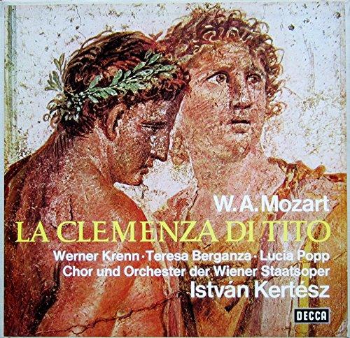 Mozart: La Clemenza di Tito (Gesamtaufnahme in italienischer Sprache - Wien 1967) [Vinyl Schallplatte] [3 LP Box-Set] - Sprache In Sprache Der