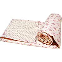"Trance Home Linen Cotton Single Dohar 58"" x 90"" (Beige Pink)"