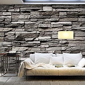 vliestapete stein deine. Black Bedroom Furniture Sets. Home Design Ideas