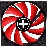 Xilence XPF120.R Boitier PC Ventilateur 12 cm Noir, Rouge