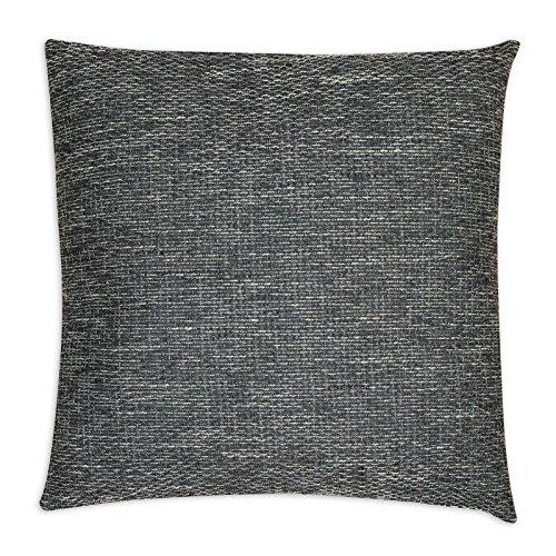 Unbekannt ROLLER Sofakissen CARUSO - schwarz-grau - mit Füllung - 50x50 cm