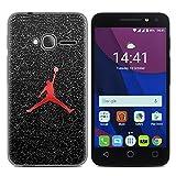 Easbuy Handy Hülle Soft Silikon Case Etui Tasche für Alcatel One Touch Pixi 4 (4,0 Zoll) Onetouch OT-4034D 4034 Smartphone Cover Handytasche Handyhülle Schutzhülle