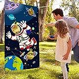 Blulu Spazio della Festa di Compleanno, Festa di Compleanno Spazio Astronauta Giocattolo, Astronaut Toss Giochi di Imposta per Bambini e Adulti nel Sistema Solare attività