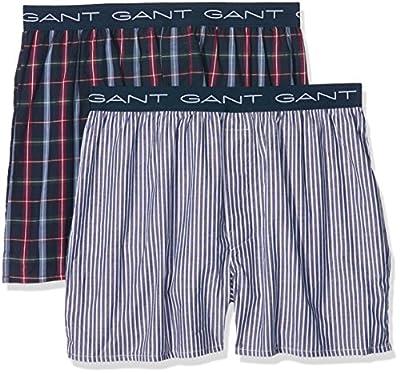 GANT Men's Pack of 2 South Sh Logo Boxer Shorts