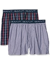 Gant Men's Pack Of 2 South Sh Logo Boxer Shorts