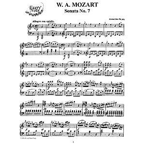 Mozart Piano Sonata No  7 in C Major, K 309: Instantly