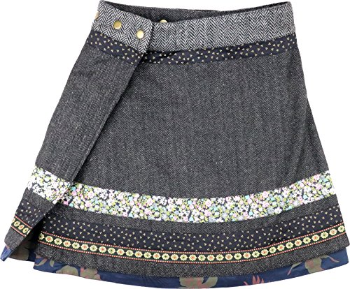 Moshiki - Jupe - Portefeuille - Femme Multicolore Mehrfarbig Taille Unique L834