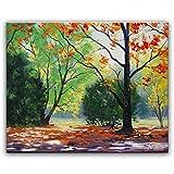 STJK$BMJW Hand Gemalte Öl Home Möbel Gemälde Landschaft Malerei Messer 50 X 60 Cm (Nur Leinwand)
