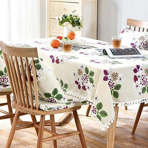 isierte Farben Tischdecken Tisch rechteckige Tischdecken im Freien Camping Tischwäsche moderne Leinen Tischdecken ( Color : Yellow , Size : 130*240cm ) (Personalisierte Tischdecke)