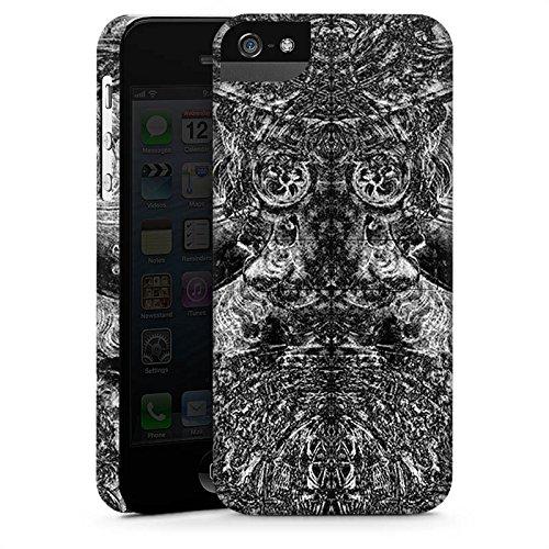 Apple iPhone X Silikon Hülle Case Schutzhülle Ornamente Thomas Hanisch Muster Premium Case StandUp