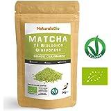 Thé Matcha Bio Japonais de Cuisine [ Qualité Culinaire ] 50 gr   Thé Vert Matcha en Poudre 100% Naturel   Matcha Green Tea Produit au Japon Uji, Kyoto  Pour la Patisseries, Cookies et dans le Lait