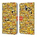 Offizielle Emoji Smileys Full Patterns Brieftasche