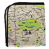 Große Picknickdecke - Karte von London Design