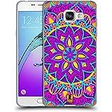 Head Case Designs Fleur Enchanteur Mandala Fleurs Étui Coque en Gel molle pour Samsung Galaxy A5 (2016)