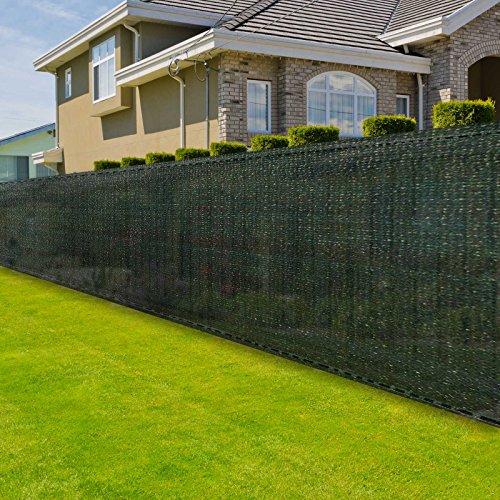 casa pura Zaunblende | Höhe: 200 cm | effektiver Sichtschutz, Windschutz, Sonnenschutz | für Garten, Balkon, Sportplatz, Gelände und Gewächshaus | in vielen Höhen und Längen (2m x 10m)
