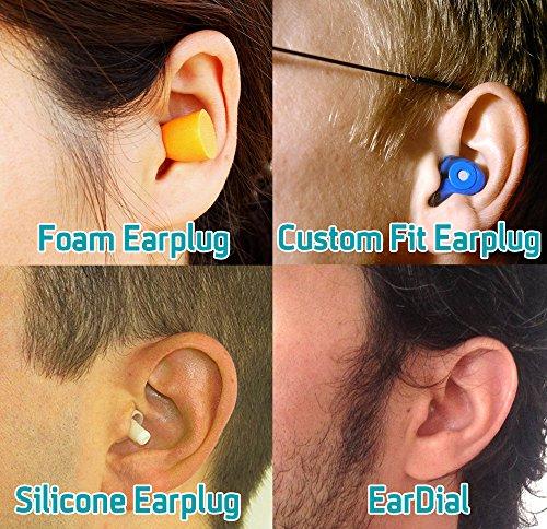 EarDial Ohrstöpsel - Unsichtbare Smarte Ohrstöpsel für Live Musik - Komfortabler, Diskreter, Wiederverwendbarer Hi-Fi Gehörschutz mit App. Ideal für Konzerte, Clubs, Festivals, Musiker, DJs, usw. - Bild 4