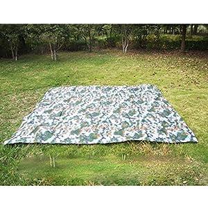 Lejie 3 m * 3 m Multifunktions Wasserdichtes Sonnenschirmzelt Camouflage Ultraleichtes Strandzelt Pergola Camping…