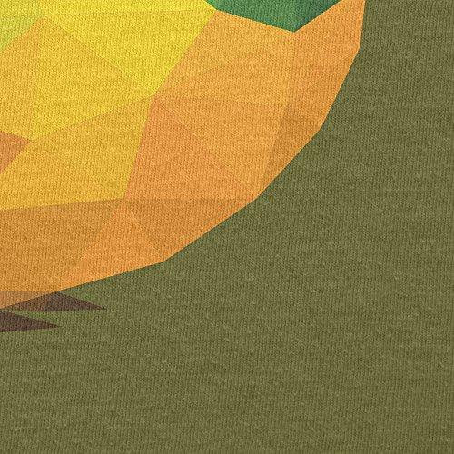 Texlab–Poligono Uccello–sacchetto di stoffa Oliva