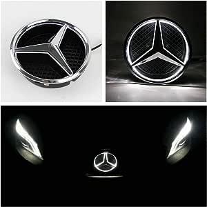 ORIGINALE Mercedes-Benz a45 AMG SCRITTA LOGO GRIGLIA ANTERIORE GRILL A-Classe w176