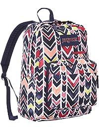JanSport Digibreak Polyester 25 Ltrs Jansport Navy Watercolor Chevron  School Backpack (JS00T50F0J8) a1d80a6d2e3df