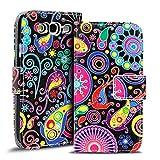 Verco Handyhülle Galaxy S3 Neo Muster, Motiv Hülle für Samsung Galaxy S3 Book Case Flip Cover - Design 4