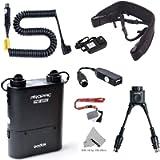 Godox PB960 Portable Extended Flash Power Battery Pack Kit Dual Output for Nikon SB910, SB900, SB800, SB28 EURO, SB28DX…