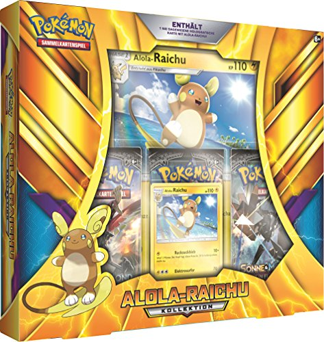 Pokémon Pokemon 25961 Company International 25961-PKM Alola-Raichu Kollektion DE - Pokemon Karten-set-box