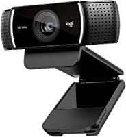 Logitech Full HD C922 Pro Stream Webcam, 1080p Camera Streaming Webcam, Records and Streams Your Gaming Sessions in Rich HD f