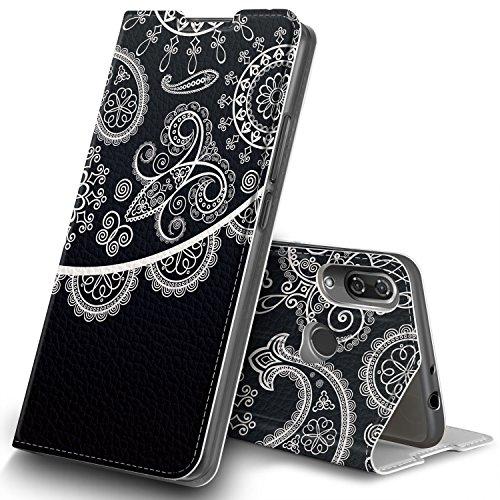 Wiko View 2 Hülle, GeeMai Premium Flip Case Tasche Cover Hüllen mit Magnetverschluss [Standfunktion] Schutzhülle Handyhülle für Wiko View 2 Smartphone, CH01