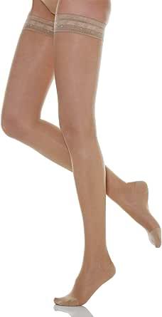 Relaxsan Basic 870 calze elastiche autoreggenti 140 den compressione graduata 18-22 mmHg