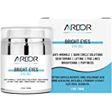 Bright Eyes - Eye Cream for Dark Circles, Puffiness, Wrinkles, Skin Firming & Lift Skin Under Eyes-75% ORGANIC Ingredients, W