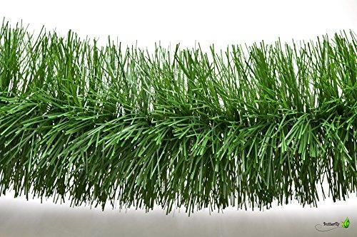 3m Grasgirlande Ø 15cm / Tannengirlande Weihnachtsgirlande Girlande Weinachten Christbaumschmuck Tanne Gras Deko Festzeltgirlande Hochzeit 150mm