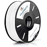 3 idea Imagine Create Print PLA 1.75 mm 3D Printer Filament (White, 1 kg)