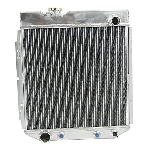 ALLOYWORKS 3 Rangées Refroidissement du moteur en Aluminium Radiateur pour Ford Mustang Ranchero /Mercury Comet More Models 1960-1966 (V8 Engine Conversion SWAP)