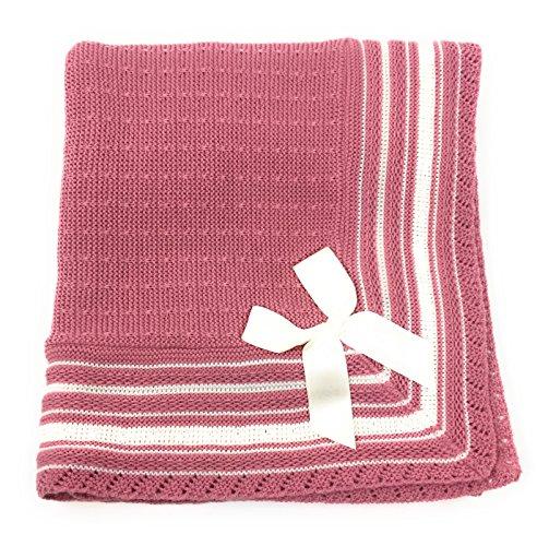 Danielstore-Toquilla de lana para bebés y recién nacidos - Talla unica.Color verde
