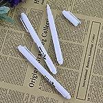 Minzhi 3Pcs White Liquid Chalk Pen For Children Blackboard