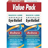 Bausch + Lomb Advanced Eye Relief: Redness Maximum Relief Redness Reliever/Lubricant Eye Drops, 0. 50 fl oz