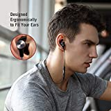 Bluetooth Headphones, TaoTronics Bluetooth 5.0 Wireless aptX Stereo Magnetic In-Ear Earbuds, Secure Fit for Sports, Gym, Travelling (IPX6 Waterproof, Built-in cVc 6.0 Noise Cancelling Mic)