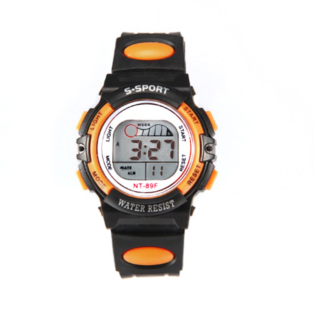 Multi-Functional Children Sports Luminous LED Digital Date Alarm Wrist Watch