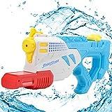 Wishtime Super Puissance Eau Pistolet fusil à eau Super Soaker Longue Distance Jeu de Tir pour Enfants et Adultes Jeux Plein Air