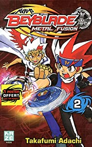 Beyblade Metal Fusion / Masters / Fury Edition simple Tome 2