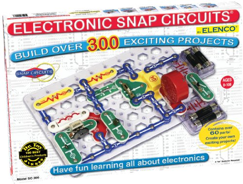Snap Circuits SC-300 Electronics Exploration Kit