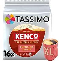 Tassimo Kenco Americano Grande Coffee Pods (Pack of 5, Total 80 Coffee Capsules)