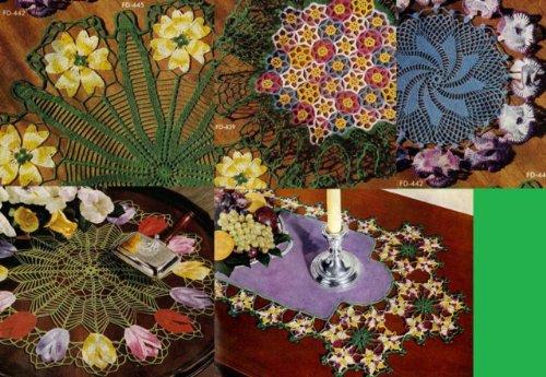 Deckchen häkeln Blumenmuster für Ihr Zuhause eBook: Unknown: Amazon ...