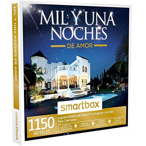 SMARTBOX - Caja Regalo -MIL Y UNA NOCHES DE AMOR - 1150 hoteles de lujo de hasta 5* en Europa, Marruecos y Túnez
