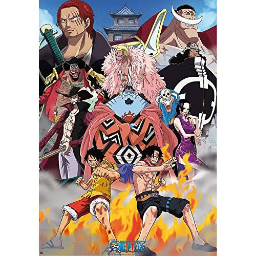 Poster One Piece - Marine Ford 98x68cm