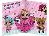 "LOL Surprise LO014""Daughter"" Birthday Card"