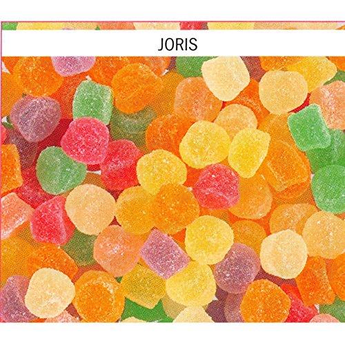 Joris Meli-Melo 1 x 1kg Packung (Weingummi mit unterschiedlichem Fruchtgeschmack)
